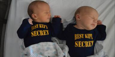Überraschung - Es sind Zwillinge