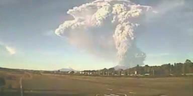 Vulkan im Süden Chiles ausgebrochen