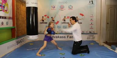 7-Jährige boxt wie ein Weltmeister