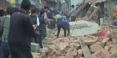 Hunderte Tote nach Erdbeben