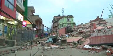 Nachbeben in Nepal und Indien