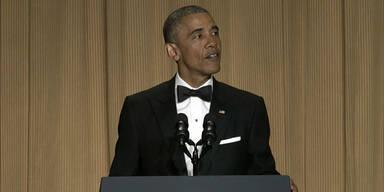 Obama übt sich als Komiker