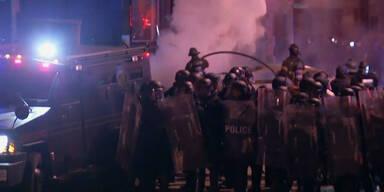 Schwere Unruhen in Baltimore