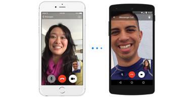 Facebook führt Videoanrufe ein