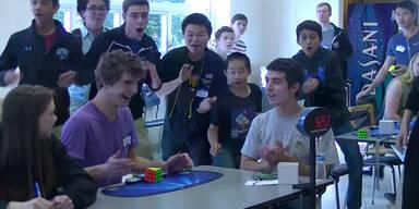 Rubik Würfel in 5.25 Sekunden gelöst