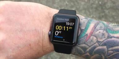 Tattoos stören Apple Watch