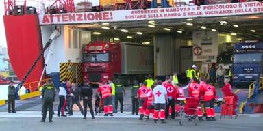 Schiff geräumt: Feuer auf Mallorca-Fähre
