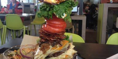 Der größte Burger bei McDonald's