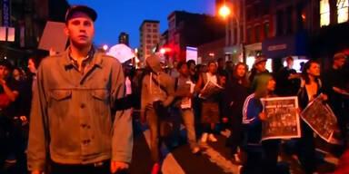Festnahmen bei Marsch in Baltimore
