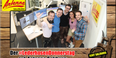#LederhosenDonnerstag im Radio