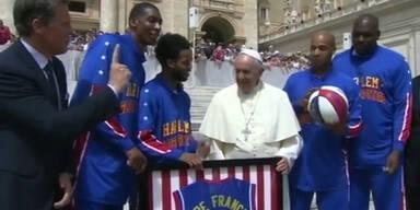 Harlem Globetrotters besuchen Papst