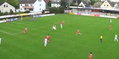 Amateur-Kicker macht's wie Ibrahimovic