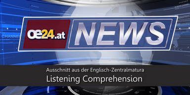 Zentralmatura: Listening Comprehension