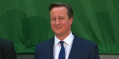 David Cameron gewinnt Wahl