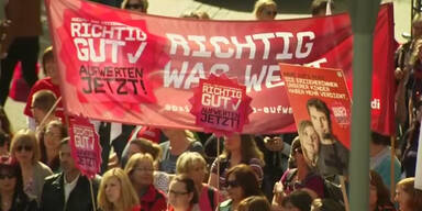Deutschland: Streik der Erzieherinnen