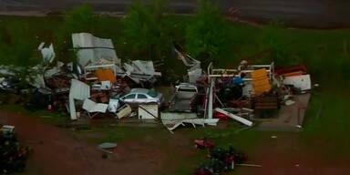 Mehrere Tornados verwüsten Oklahoma
