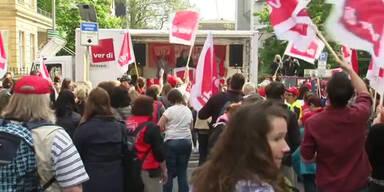 Deutsche Erzieher weiten Streik aus