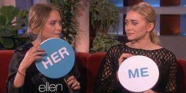 Ashley und Mary-Kate bei US-Talkshow