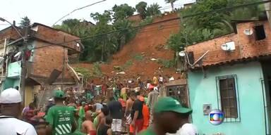 Erdrutsch im brasilianischen Salvador