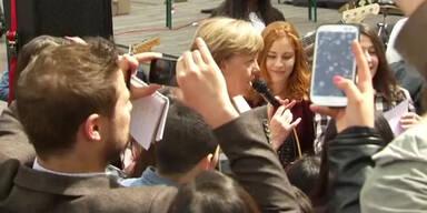 Selfies, Jazz und Angela Merkel