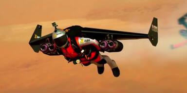 Irre Fluganzüge begeistern Dubai