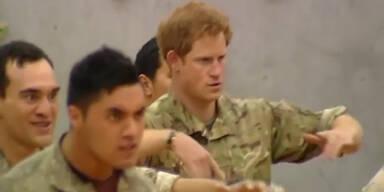 Prinz Harry tanzt den Haka