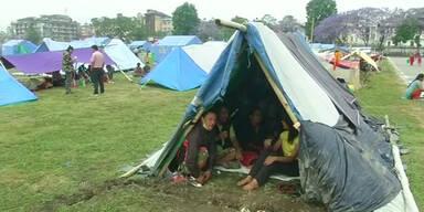 Kathmandu: Angst vor Nachbeben