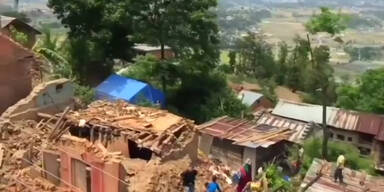 Erschreckende Aufnahmen aus Nepal