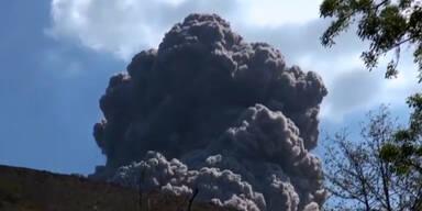 Vulkan-Ausbruch in Nicaragua