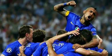 Juventus Turin gewinnt gegen Real Madrid