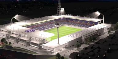 Pläne für neues Austria-Stadion