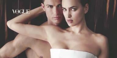 Shayk posiert mit Ronaldo für Vogue