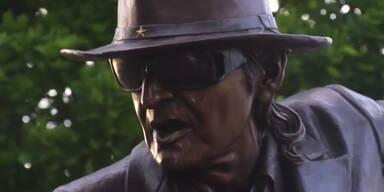 Udo Lindenberg enthüllt sein Denkmal