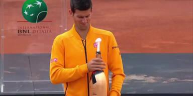 Djokovic: Das ging ins Auge
