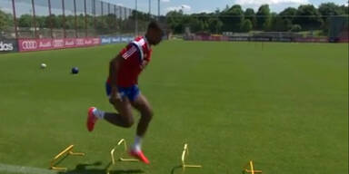 David Alaba trainiert wieder