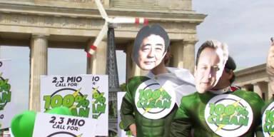 Merkel: Klimawandel Milliarden