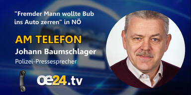 """Polizeisprecher über den """"fremden Mann"""""""