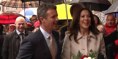 Dänisches Prinzenpaar in München