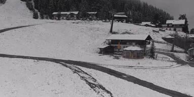 Schnee in Bad Gastein