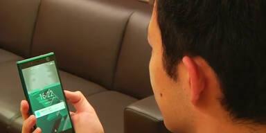 Handy mit Iris-Erkennung