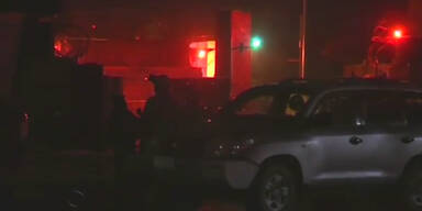 Kabul: Anschlag im Diplomatenviertel
