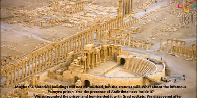 "IS: ""Wollen das Weltkulturerbe Palmyra zerstören"""