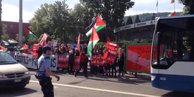 Demos vor dem FIFA Kongress