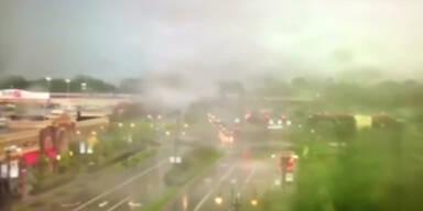Tornado wütet in Ohio