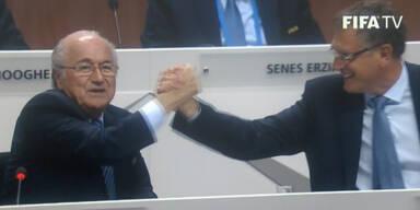 """FIFA: """"Handschlag für den Frieden"""""""