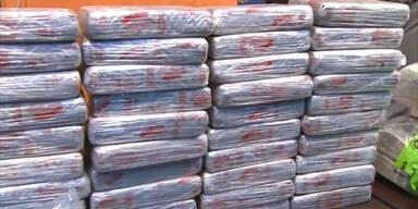 Große Menge Heroin beschlagnahmt