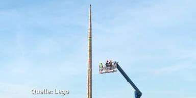 Der höchste Lego-Turm der Welt