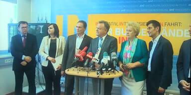 Niessl: neues SPÖ-Team
