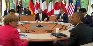 Zweiter Tag des G7 Gipfels