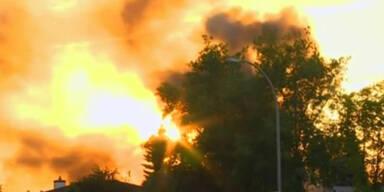 Schießerei und Brand in Edmonton